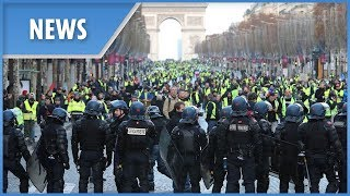 Paris: Yellow Vest protest continues despite government scrapping fuel price hike - THESUNNEWSPAPER