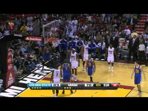Golden State vs Miami NBA Highlights 12/12/12