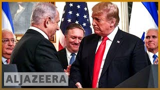 🇮🇱🇸🇾 Trump formally recognises Israeli sovereignty over Golan Heights | Al Jazeera English - ALJAZEERAENGLISH