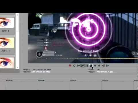 How to make Glowing Rings (overlay). [SONY VEGAS]