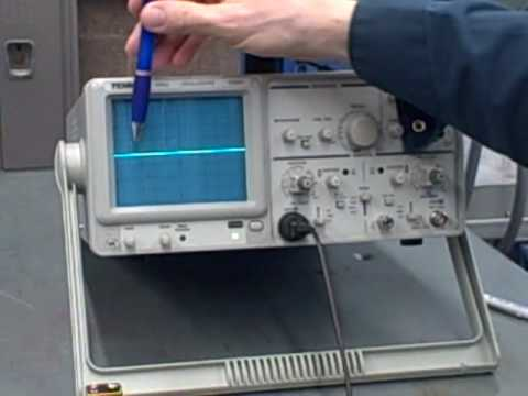 Oscilloscope operation part1