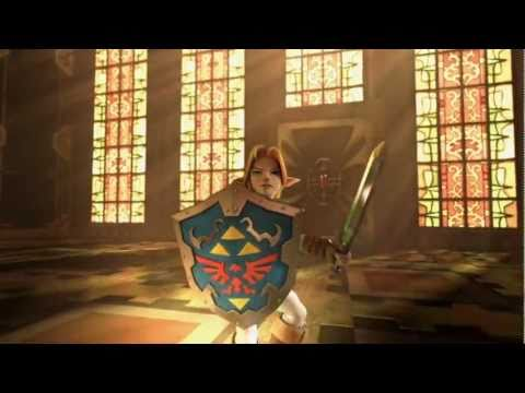 The Legend of Zelda: Ocarina of Time 3D (3DS) - Commercial