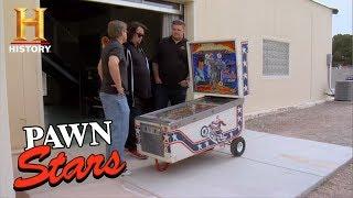 Pawn Stars: Evel Knievel Pinball Machine (Season 4) | History - HISTORYCHANNEL