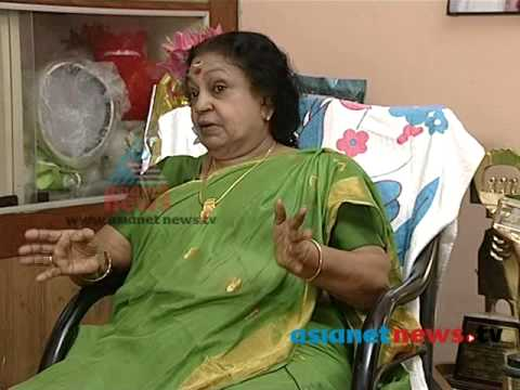 Actress T R Omana in On Record 15th May 2013 Part 1  