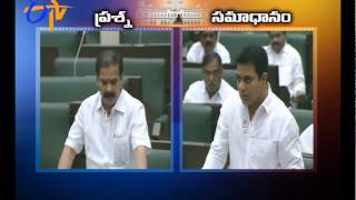 Minister KTR Answers On Questions Over INCENTIVES TO SC , ST ENTREPRENEURS - ETV2INDIA