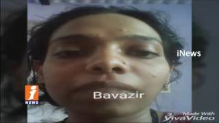 Married Woman Record Selfie Video Before Commits Suicide | Hyderabad | iNews - INEWS