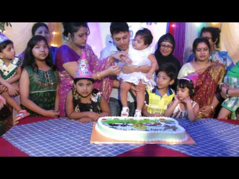 Megh's (Tuntuni) first Birth Day celebration
