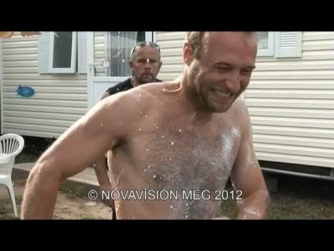 Hidden Camera Prank : Public Shower