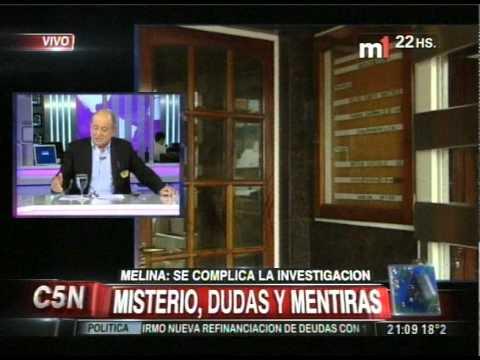C5N - CHICHE EN VIVO: MISTERIO, DUDAS Y MENTIRAS EN EL CASO MELINA ROMERO