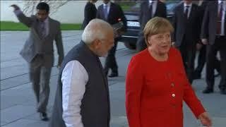 21 Apr, 2018: India's Modi makes stopover to see Merkel in Berlin - ANIINDIAFILE