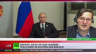 Putin, Obama & Merkel among victims of G20 leaders' data breach in Australia, typo to blame - RUSSIATODAY