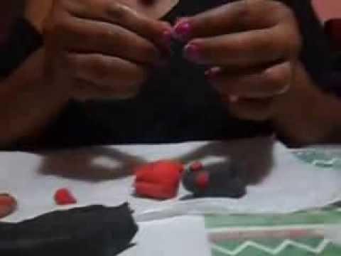 Serpiente en plastilina