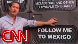 Georgia candidate's 'deportation bus': Follow me to Mexico - CNN