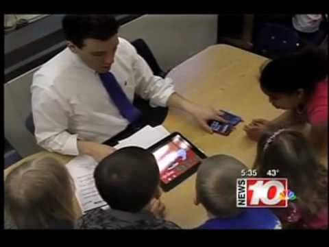 iPad in the Classroom: 1st Graders use iPad/iOS Devices