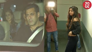 Khan Family Attends Salman's Tubelight Screening | Suhana Leaves With Chunky's Nephew Ahaan