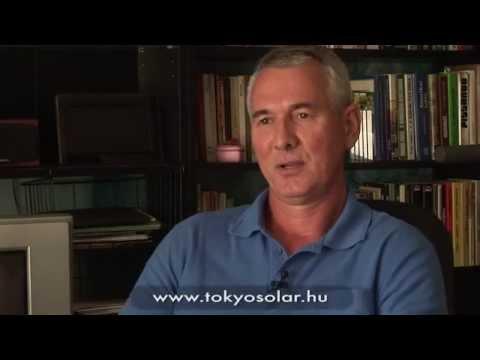 TokyoSolar napkollektor rendszer tapasztalatok   Kovács László, Kistarcsa