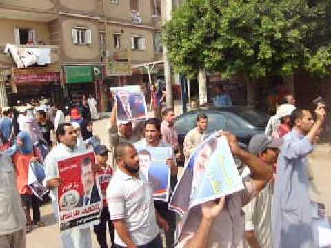 الالاف من ابناء ايتاى البارود بحيرة ينتفضون ضد الانقلاب 18-8