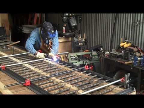 How To Weld Wrought Iron Rails by Mitchell Dillman