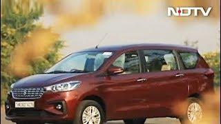 Mahindra Alturas G4 & New Maruti Suzuki Ertiga - NDTV