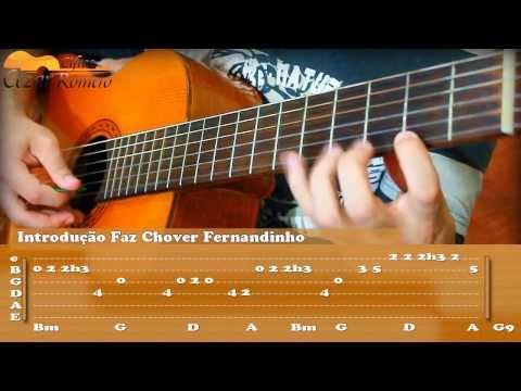 Aula de Violão Gospel Solo Faz Chover - Fernandinho (Tabs Introdução)