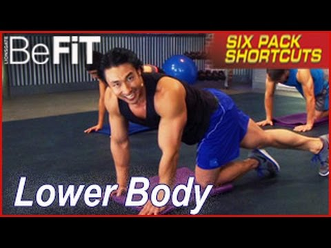 Six Pack Shortcuts: Lower Body Shred Workout with Mike Chang- Legs & Glutes