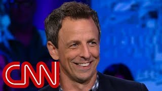 Seth Meyers explains why he's tough on Trump - CNN