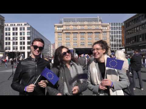 Ein Tag mit Pulse of Europe #PoE