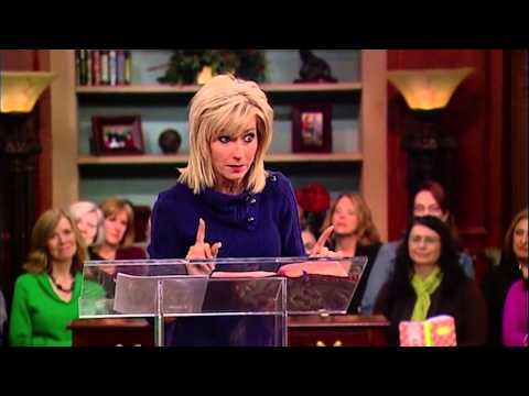 Beth Moore: Sunrise Over The Strip Club (James Robison / LIFE Today)