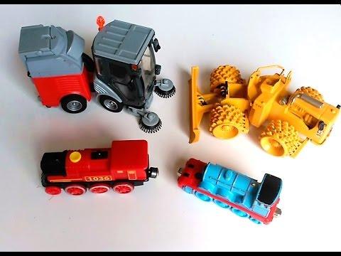 Juguetes obra excavadora hormigonera tractor tren bomberos euskaraz