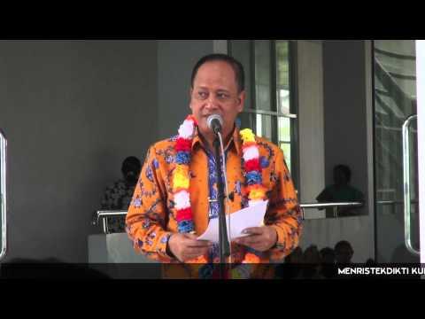 Kemenristekdikti Kunjungi Universitas Papua di Sorong