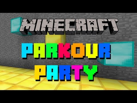 PARKOUR PARTY! - Minecraft Parkur Haritası #1