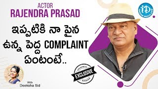 Rajendra Prasad Exclusive Interview | Talking Movies With iDream | Deeksha Sid | iDream Movies - IDREAMMOVIES
