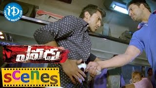 Yevadu Movie Scenes || Ram Charan At Bus Fight Scene || Kajal Aggarwal - IDREAMMOVIES