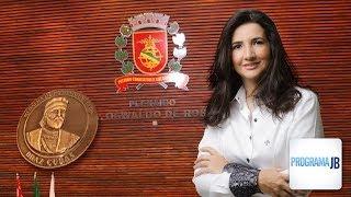 Dra. Rose Marques recebe a Medalha Honra ao Mérito Braz Cubas | Programa JB