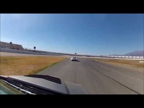 D3 Cadillac CTSV plays with Porsche GT2RS at Auto Club Speedway