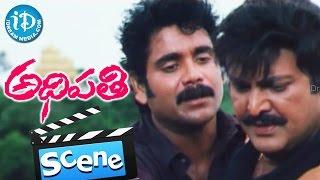 Adhipathi Movie Scenes - Mohan Babu And Nagarjuna Climax Fight || Preeti Jhangiani - IDREAMMOVIES