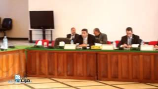 جلسة المجلس الاقليمي بخريبكة برسم دورة يناير 2016