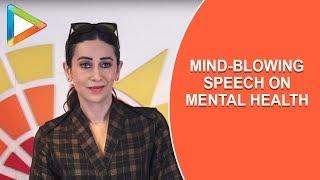 Karisma Kapoor talks to students in Mumbai about Mental Health - HUNGAMA