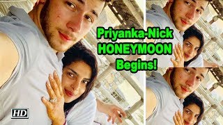 Priyanka - Nick HONEYMOON Begins! - IANSINDIA