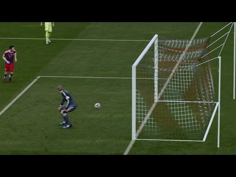 Best FIFA 15 Own Goal ever? PS4 (HD) 1080p