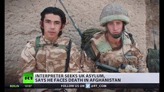'They're sending me where I'll be killed': Afghan interpreter on seeking asylum in UK - RUSSIATODAY