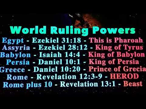 Earthly Kings are tied to SATAN