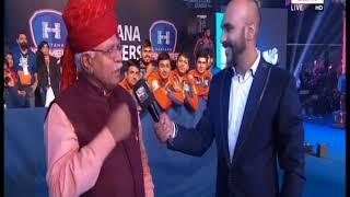 PWL 3 Day 12: Haryana CM Manohar Lal Khattar Speaks over Pro Wrestling Season 3 - NEWSXLIVE
