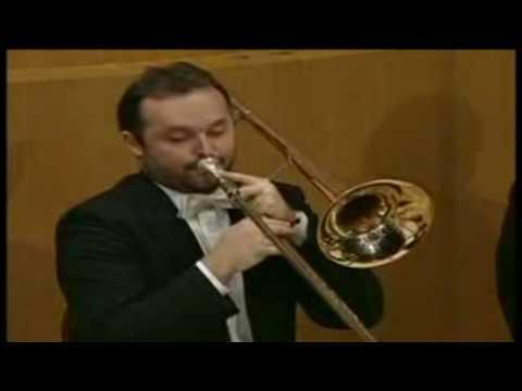 Dany Bonvin trombone solo Ravel Bolero Munich Phil 1993 Celibidache 00