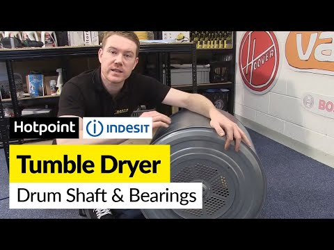 How to Replace 'New Style' Drum Shaft and Bearings in a Hotpoint or Indesit Tumble Dryer
