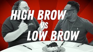 Coming Soon: HIGH BROW VS LOW BROW (TRAILER) - FOODNETWORKTV