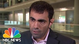 Political Satirist Attacked In London For Mocking Saudi Royals | NBC News - NBCNEWS