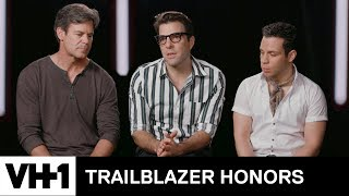 Zachary Quinto & Cheyenne Jackson on Glee's Impact | Trailblazer Honors - VH1