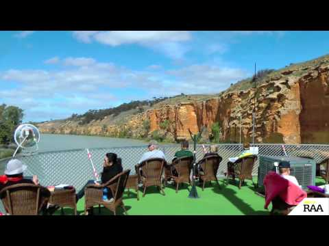 Cruise Australia's most famous river aboard the Murray Princess