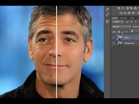Tutorial Como reducir las arrugas de forma realista en Photoshop CS6